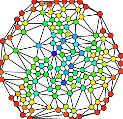 connected dot to lines